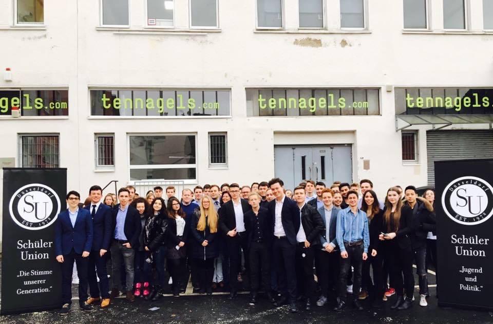 Zu Besuch bei der Jahreshauptversammlung der Schüler Union Düsseldorf am 05.03.2016
